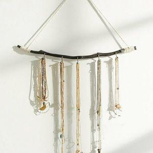 Boho necklace holder